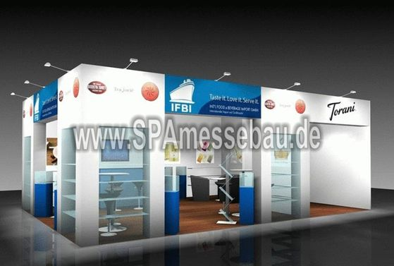 SPA Messebau Messestand konventionell
